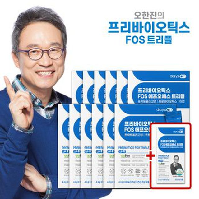 (일)프리바이오틱스FOS 트리플 12박스/12개월분+무료체험분 10포