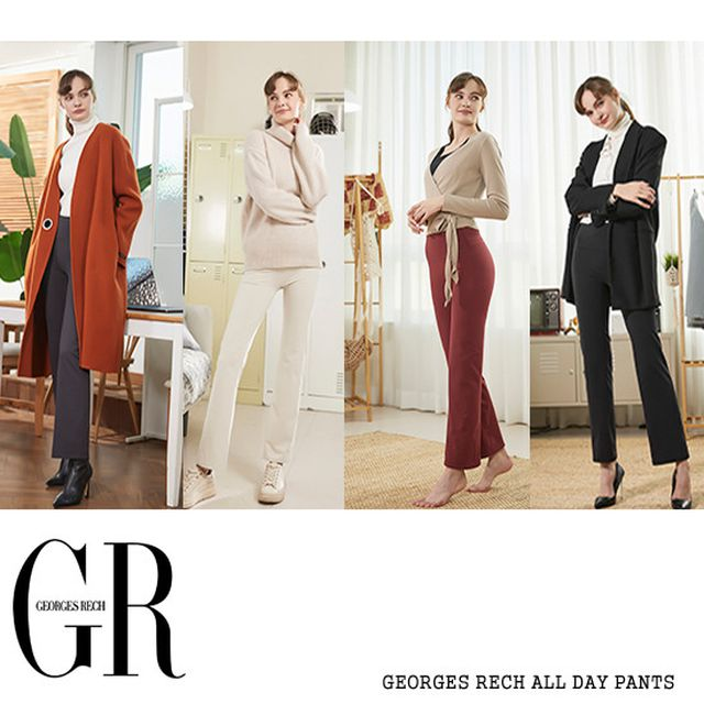 조르쥬레쉬 GEORGES RECH ALL DAY PANTS 4종