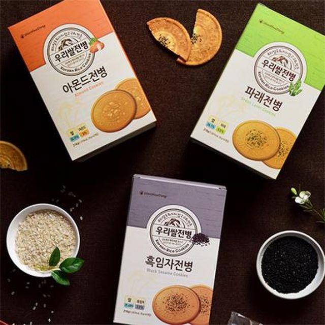 신화당제과 우리쌀전병 3가지 맛  3세트 (총9박스)
