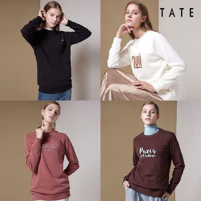 [현대5%할인]테이트[TATE] 융기모 스웻셔츠 4종-여성