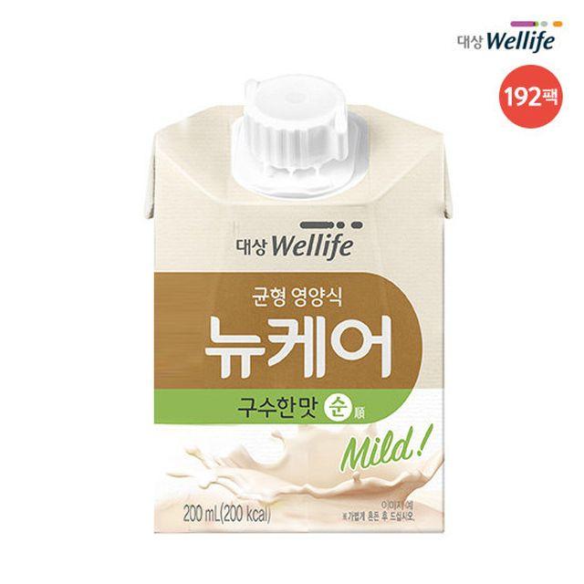 ● [더블] 대상웰라이프 뉴케어 구수한맛 순 (192팩*200ml)