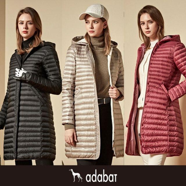 [아다바트] [브랜드입점] 20FW 프리미엄 구스다운 재킷 (여성)