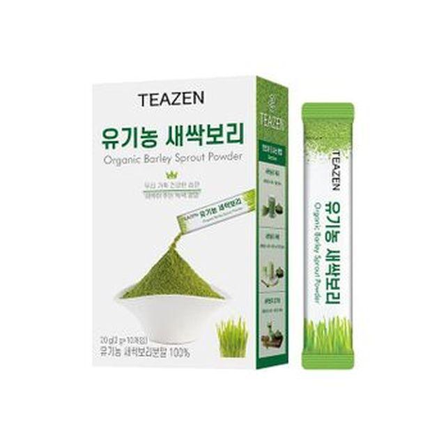 [국민카드5%할인]티젠 유기농 새싹보리 20박스/총 200포