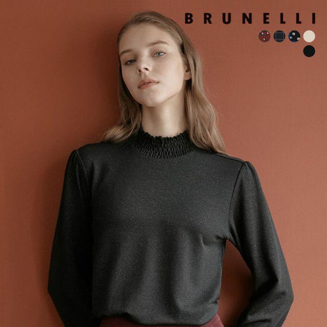 [BRUNELLI]브루넬리 스모킹 기모 블라우스 5종