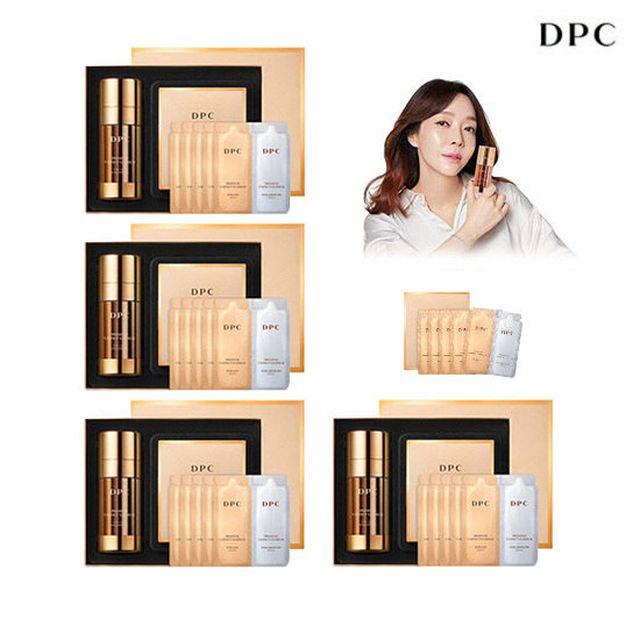 [최대용량] DPC 프리미엄 브이 이펙트 더블 비타민 세럼 본품 4박스 + 파우치(5매) 2박스 최대 용량 패키지