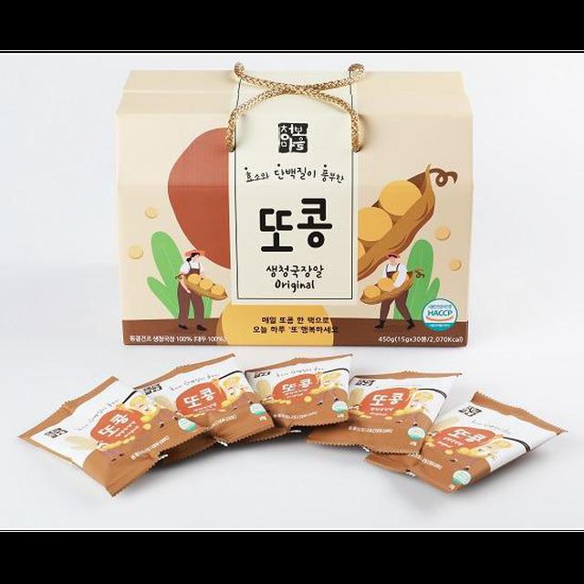 [1사1명품] 또콩 생청국장알 2박스60봉