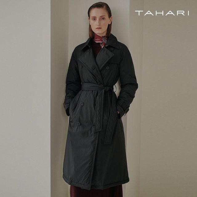 [론칭가179,000원]타하리 20FW 트렌치 구스다운 코트