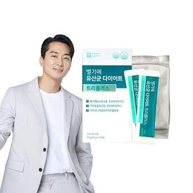 벨기에 유산균 다이어트 트리플러스 18박스/36주분