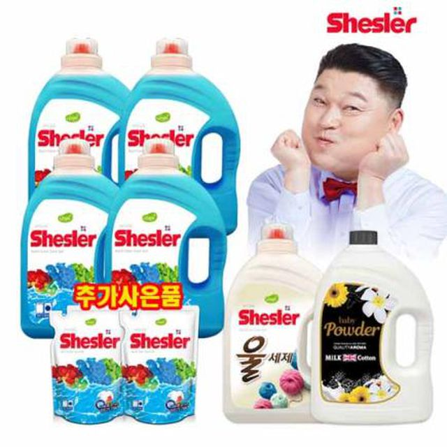 [공영필마트]쉬슬러세탁세제실속세트_기획초특가