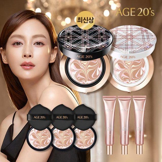 2021 최신상] Age20s 3세대 커버팩트 HQ + 로얄 아이크림 3개