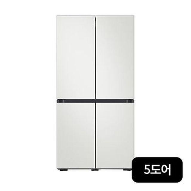 삼성 BESPOKE 냉장고 5도어(RF85T9203AP)+전자레인지