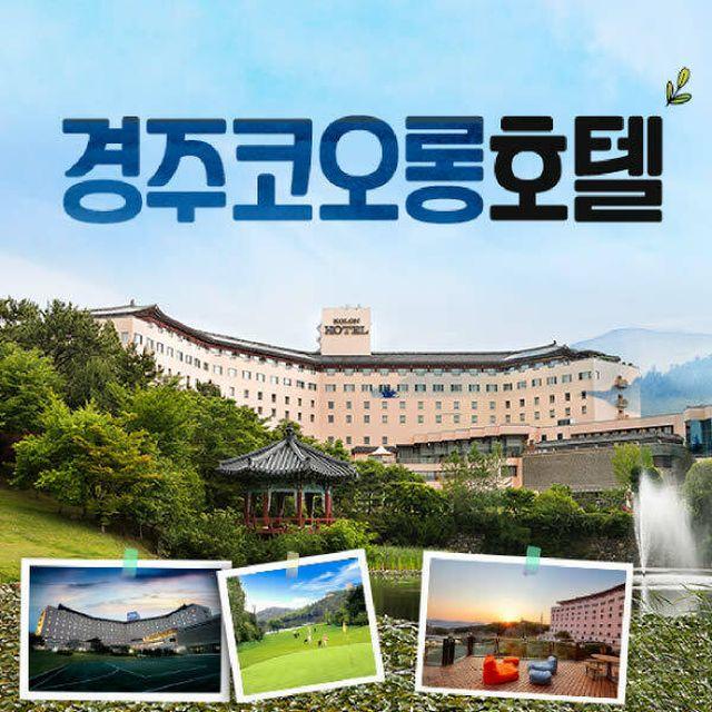 [TV+]경주 코오롱 호텔 프리미엄 호캉스 패키지 (4인)