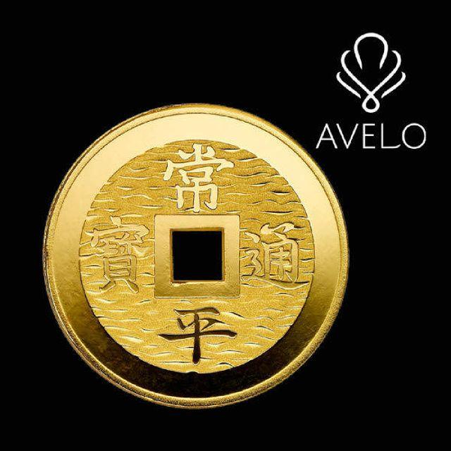 아베로(AVERO) 순금 모형 (45g) + 순금 크로바 열쇠(3.75g)