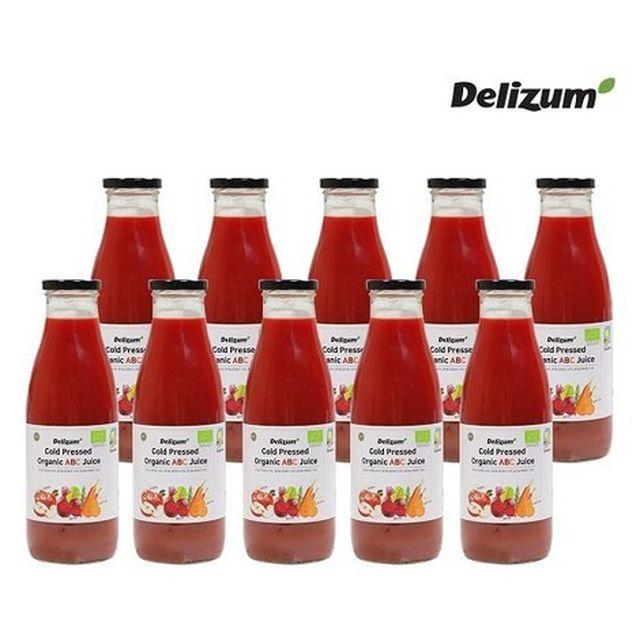 [Delizum]델리줌 스페인 유기농 ABC주스 750ml 10병