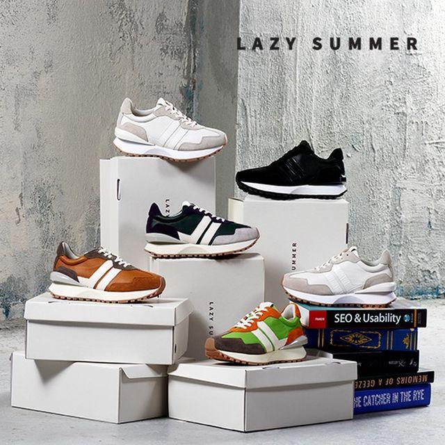 [LAZY SUMMER] 21SS 에어범퍼 스니커즈 WOMEN