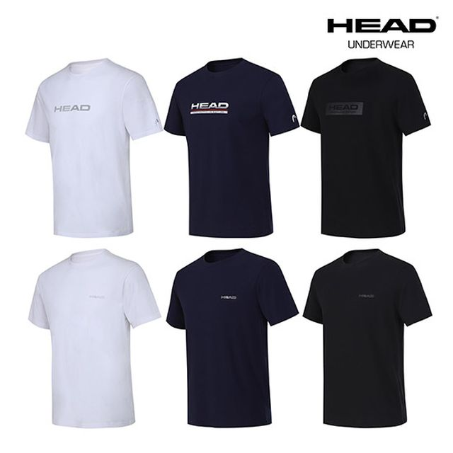 헤드 남녀공용 매일 언더셔츠 6종