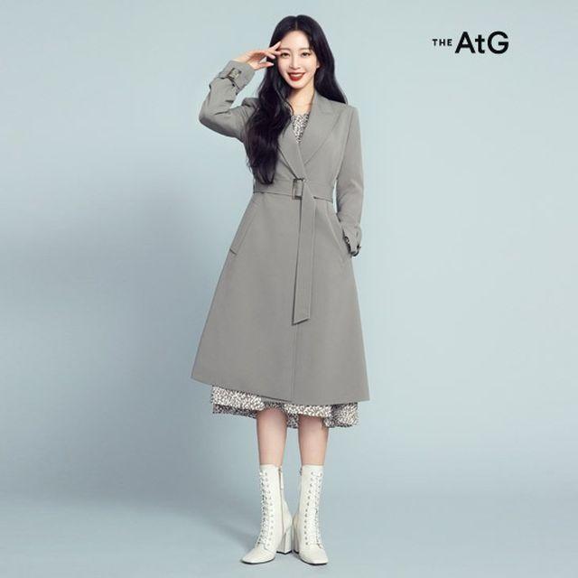 [THE AtG]더엣지 SS 2-Way 드레스업 트렌치 세트 2종