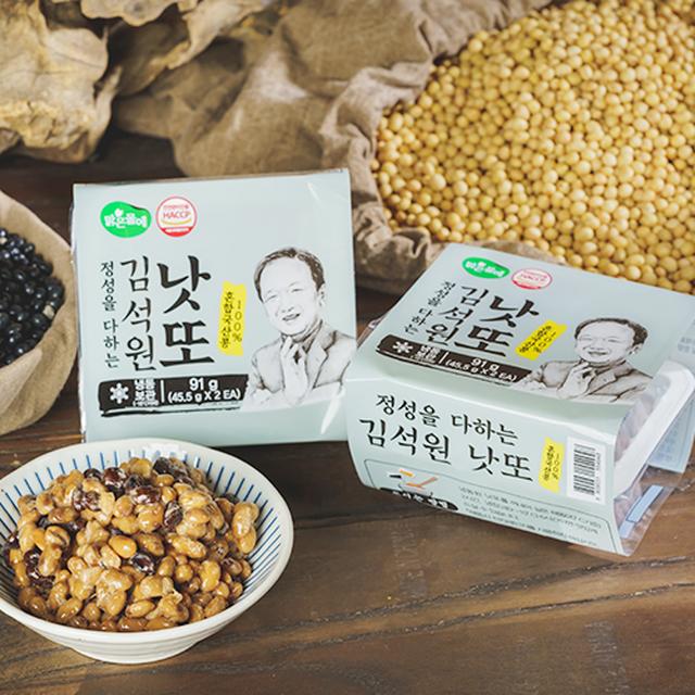 [참좋은콩] 김석원 혼합낫또 (46개)