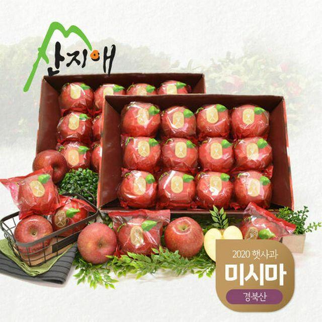 [산지애] 씻어나온 사과 5.6kg