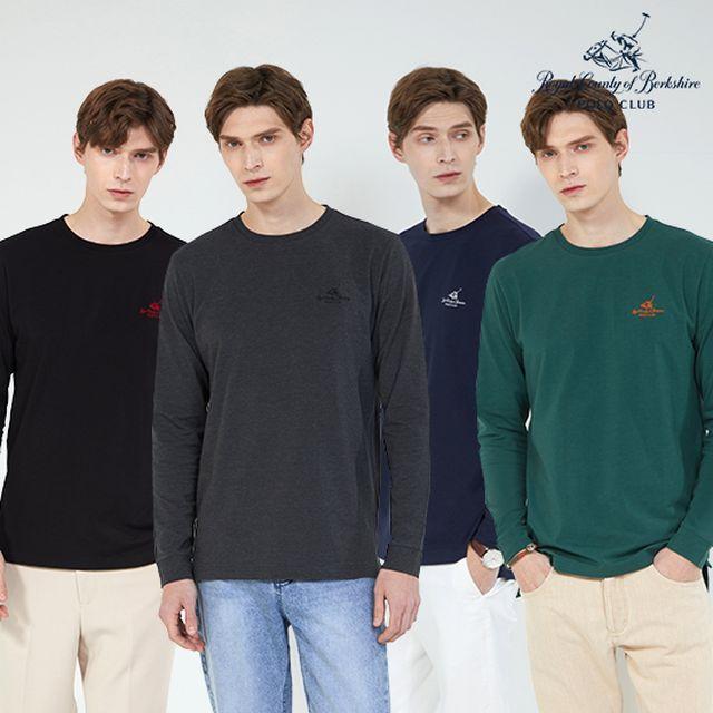 (4종 모두)RCB폴로 남성 코튼 티셔츠 4종세트