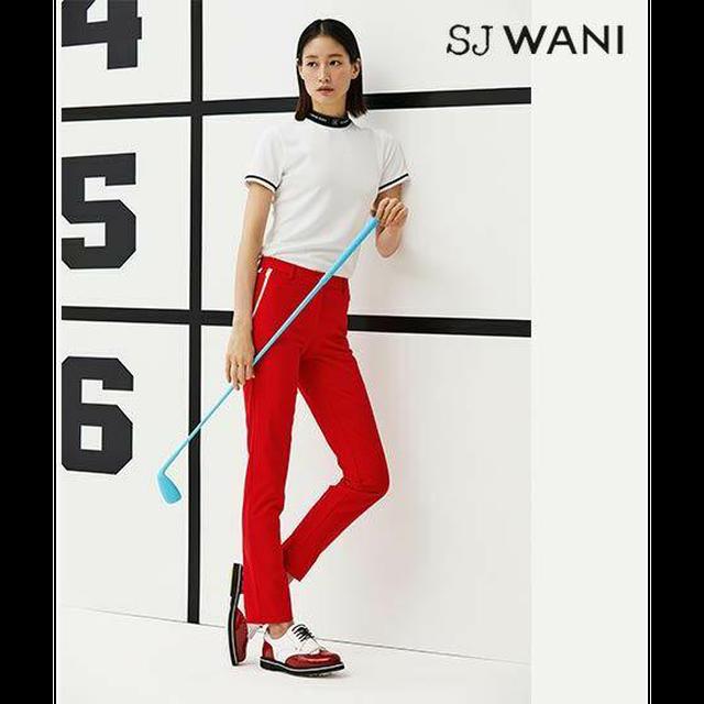 2021년 십주년 기념,손정완다운 여자의 골프웨어,기능성소재 [와니골프]SJ WANI GOLF 사브리나팬츠1종
