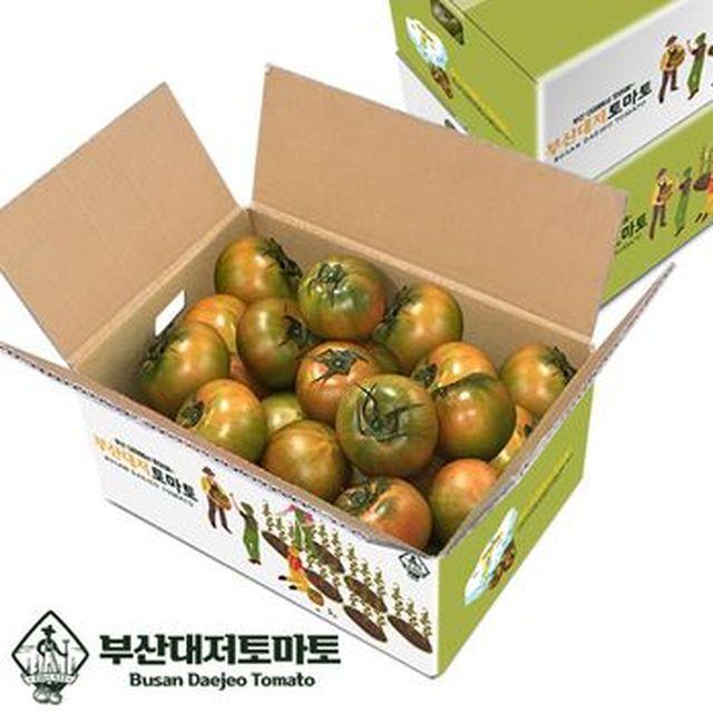 부산청년농부 2021 햇 대저토마토 S~2S사이즈 2박스