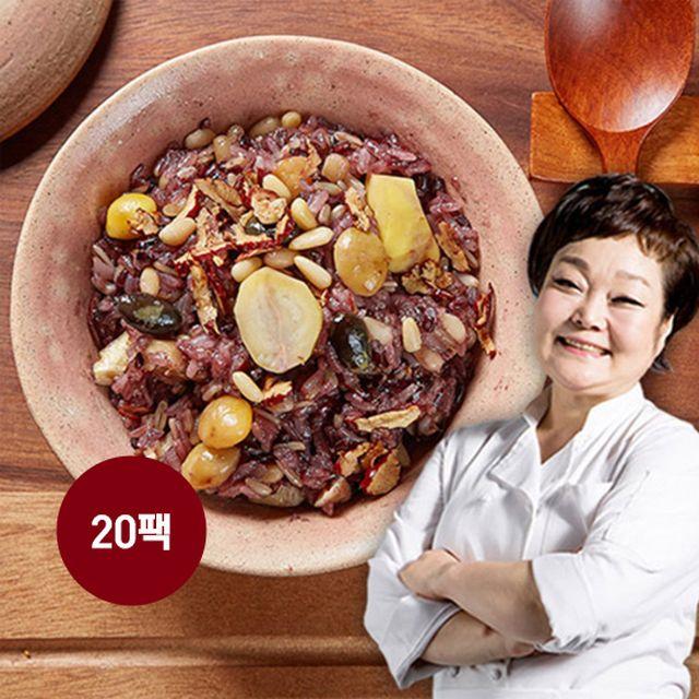 빅마마 이혜정의 꽉찬 수제 영양밥 20팩