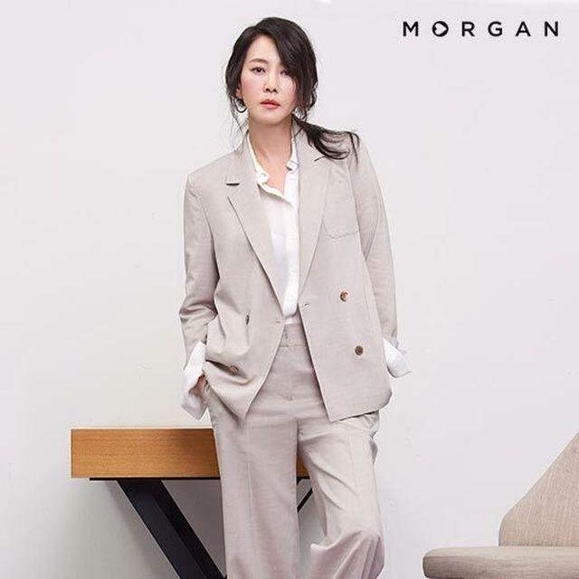 [김남주의 모르간]구김없이 편안한 린넨 텐션 재킷 MORGAN 린넨 텐션 재킷