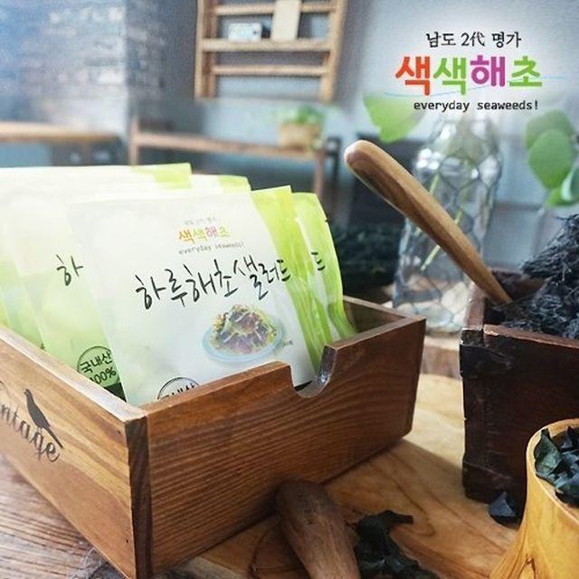 색색 하루 해초 샐러드 8g x 40봉 + 방송에서만 10봉 더!