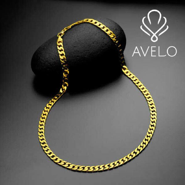 아베로(AVERO) 24K 순금 커브체인 목걸이(56.25g) + 순금 골드바 목걸이(3.75g)
