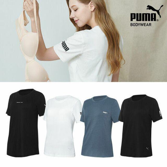 [푸마] 여성 면 100% 프리 티셔츠 4종 (일명 노브라티)