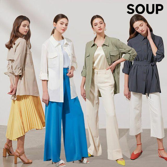 가격을 뛰어넘은 디테일. 활용도 만점의 셔츠재킷 [21SS최신상]SOUP 셔츠재킷 1종