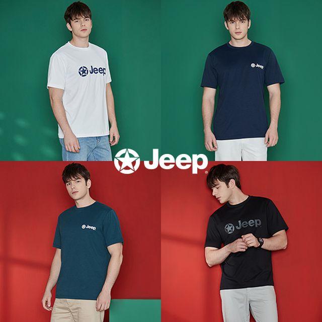 21SS 지프 남성 반팔 티셔츠 4종