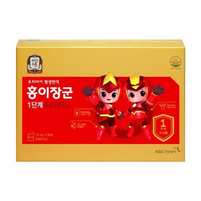 [etv]정관장 홍이장군 1단계 3박스 90일분