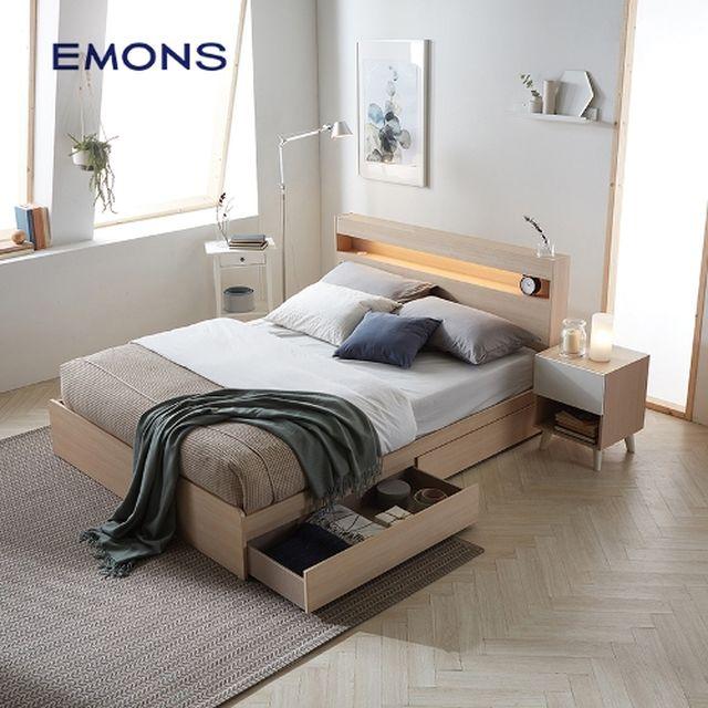 [에몬스] 클레어 에디션 침대 퀸(Q)