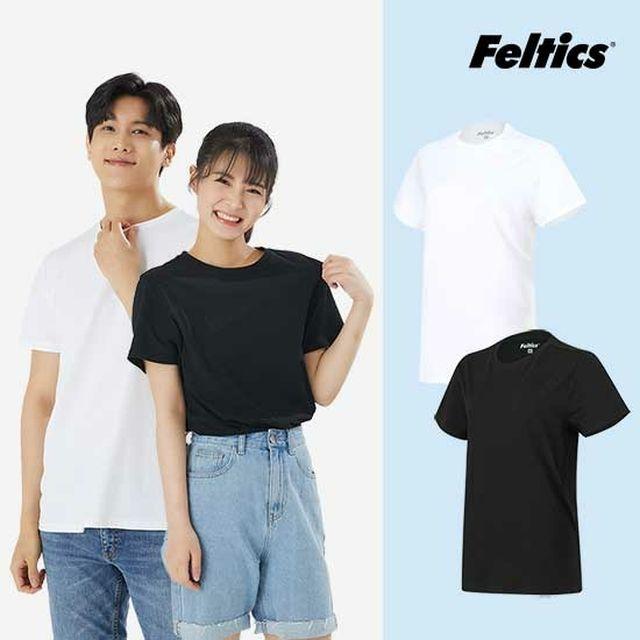 펠틱스 남녀 3팩 9종 면티셔츠