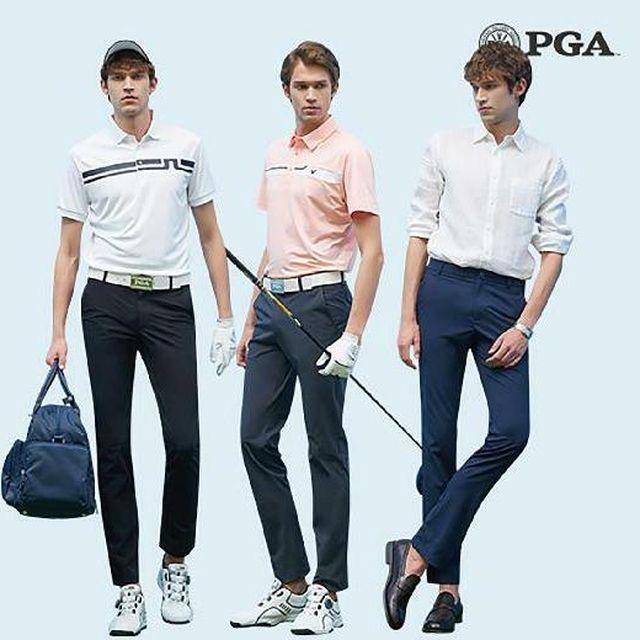 [롯데5%할인](남성)PGA 에어마스터 라운딩팬츠 3종