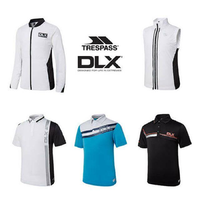 트레스패스 DLX 남성 골프(재킷+베스트+티셔츠) 복합구성 5종