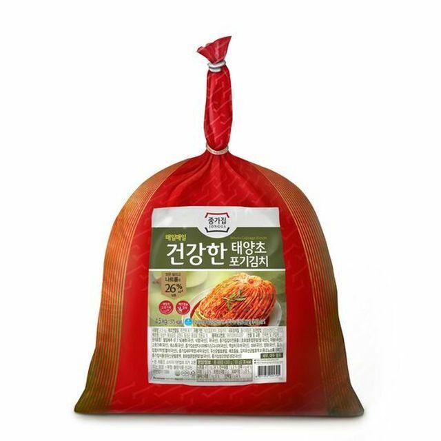 종가집 건강한 태양초 포기김치 4.5kg