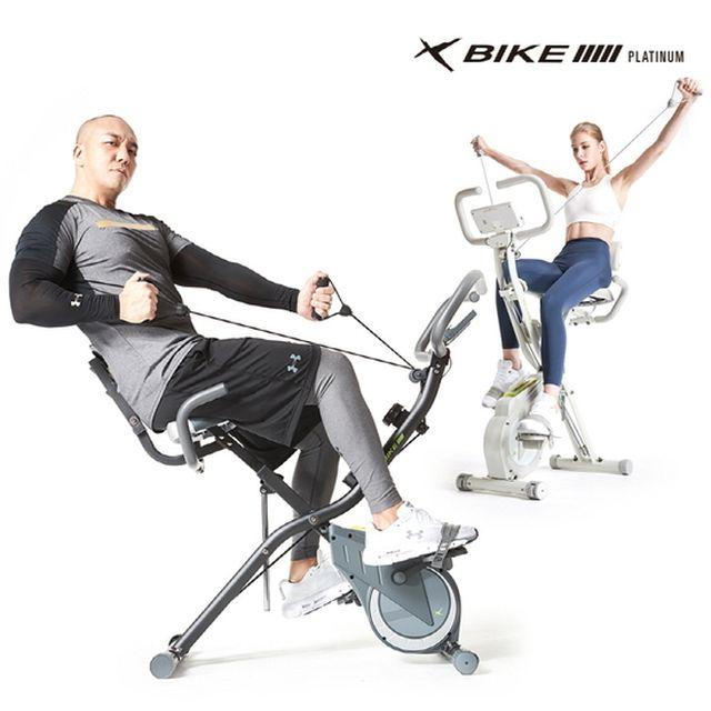 (국민 다이어트 멘토 숀리)숀리 엑스바이크 플래티넘 실내자전거 6세대