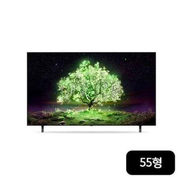 [국민카드5%할인]LG 올레드 TV AI ThinQ(인공지능 씽큐) 55형(OLED55A1MNA)+우퍼/사운드바