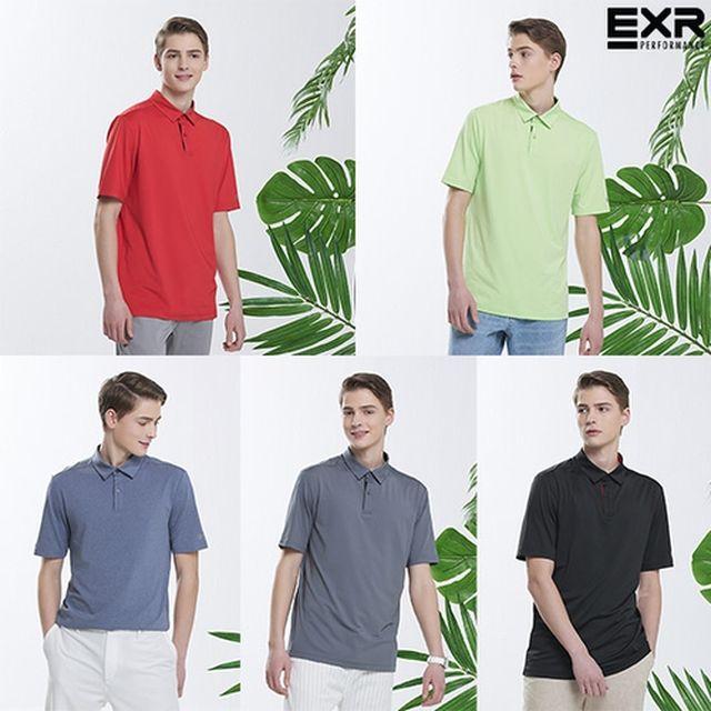 [EXR] 2021 SUMMER 남성 에어쿨 카라티셔츠 5종 패키지 최종가
