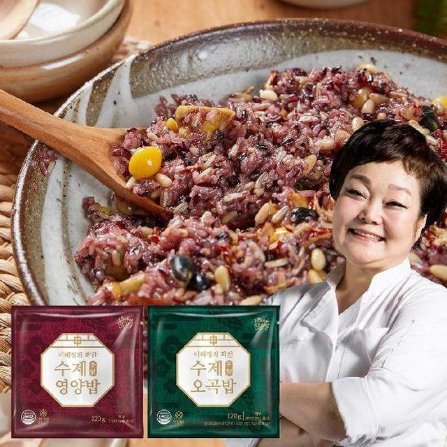 [국민5%할인]★단독구성★ [빅마마] 수제 영양밥 15팩 + 수제 오곡밥 5팩