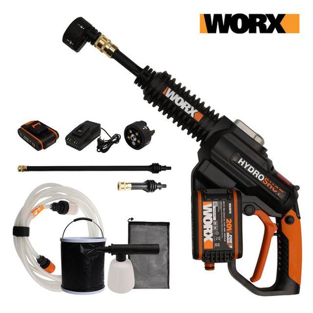 [방송중사은품]WORX 웍스 무선 고압세척기 세트 WG630E.2