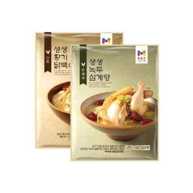 [목우촌]생생삼계탕(녹두삼계탕3팩+황기닭백숙3팩)_1