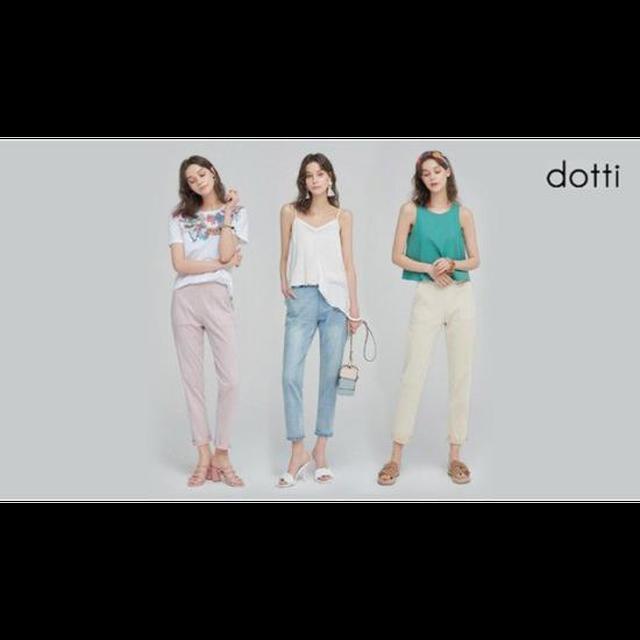 [DOTTI]도티 여성 썸머 컬러 데님 팬츠 3종