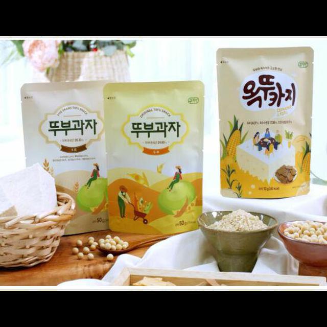 쿠키아 뚜부과자 18봉(오리지널7+오곡7+옥뚜카지4)