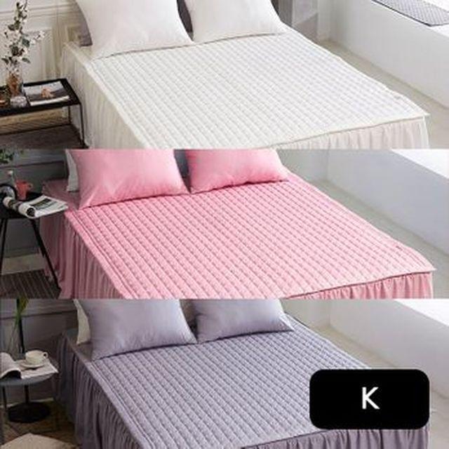 [농협카드5%할인]메리엔느 킹 순면침대커버+침대패드