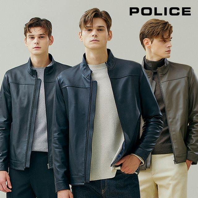 [폴리스] 21FW 남성 양가죽 재킷