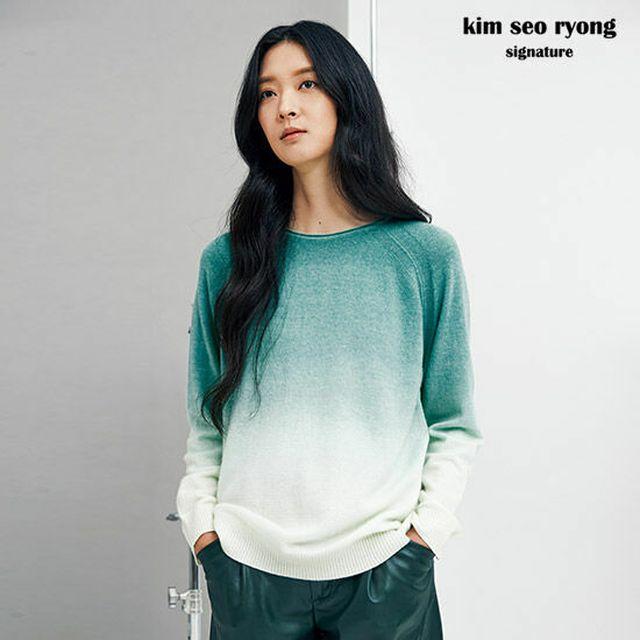 김서룡 시그니처 NEW그라데이션 니트 1종 (여)(5colors)